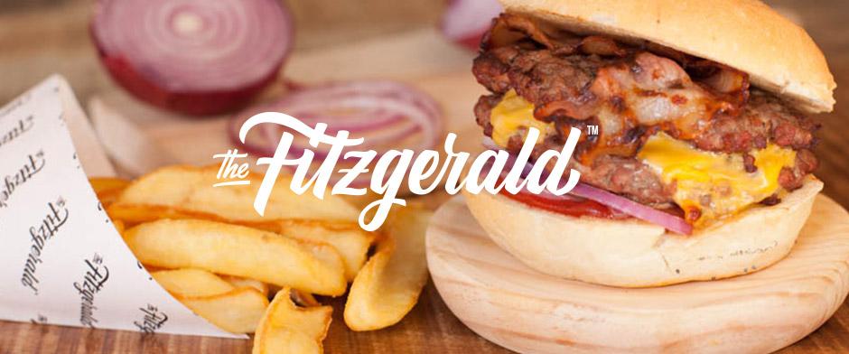 The Fitzgerald Burger Company. Pixelarte estudio de diseño gráfico, creatividad y web.