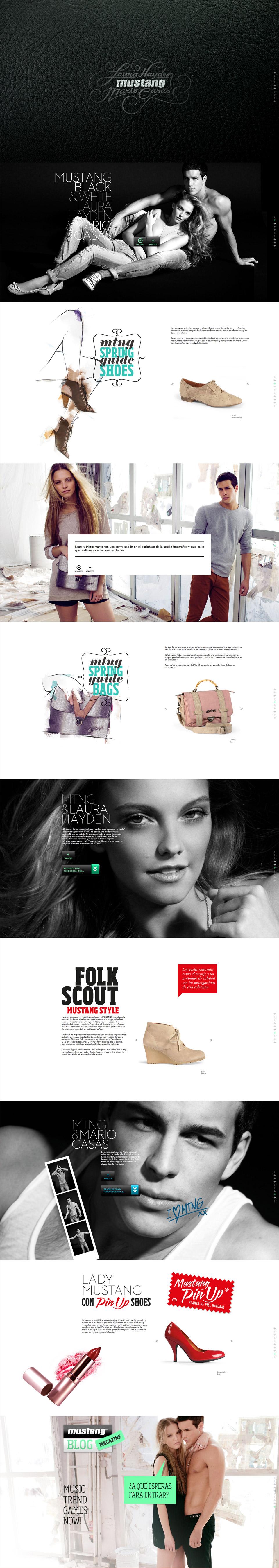 Web Spring Summer MTNG - Mustang Laura y Mario. Pixelarte estudio de diseño gráfico, creatividad y web.