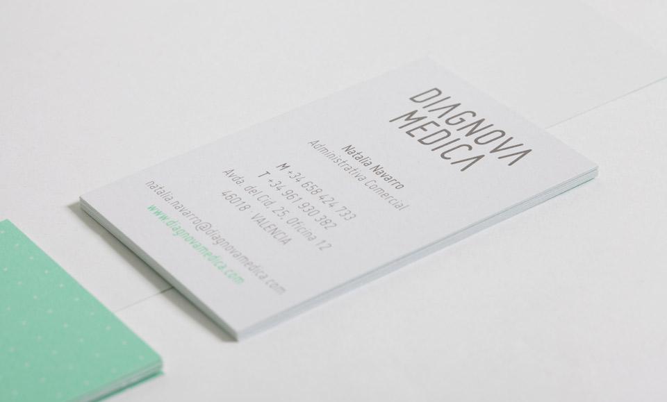 Diagnova Medica papeleria 8. Pixelarte estudio de diseño gráfico, creatividad y web.