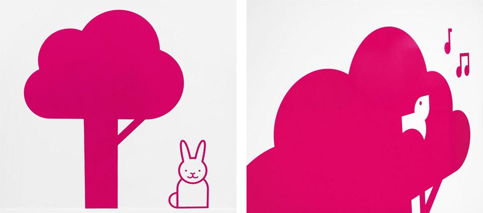 Pasitos, usos múltiples. Pixelarte estudio de diseño gráfico, creatividad y web.
