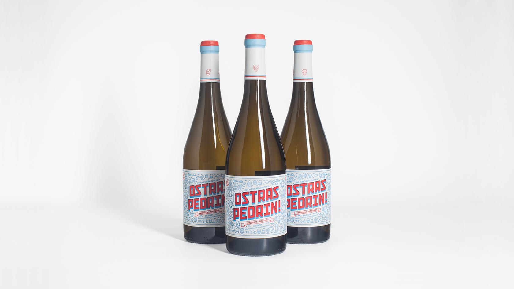 pixelarte-diseno-grafico-botella-vino-Ostras_pedrin-Bodega-Vicente_Gandia