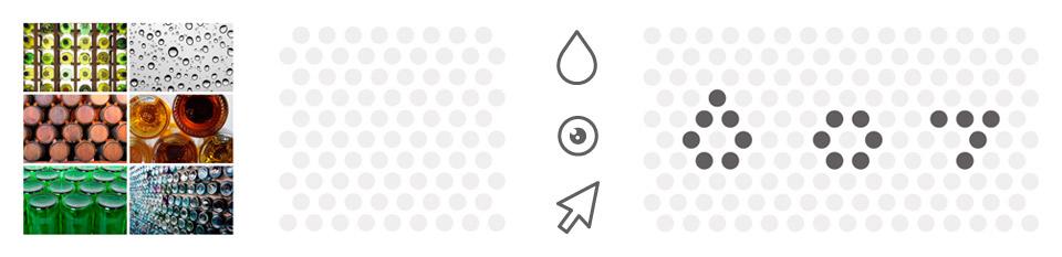 Origen SGI Corporativa. Pixelarte estudio de diseño gráfico, creatividad y web.