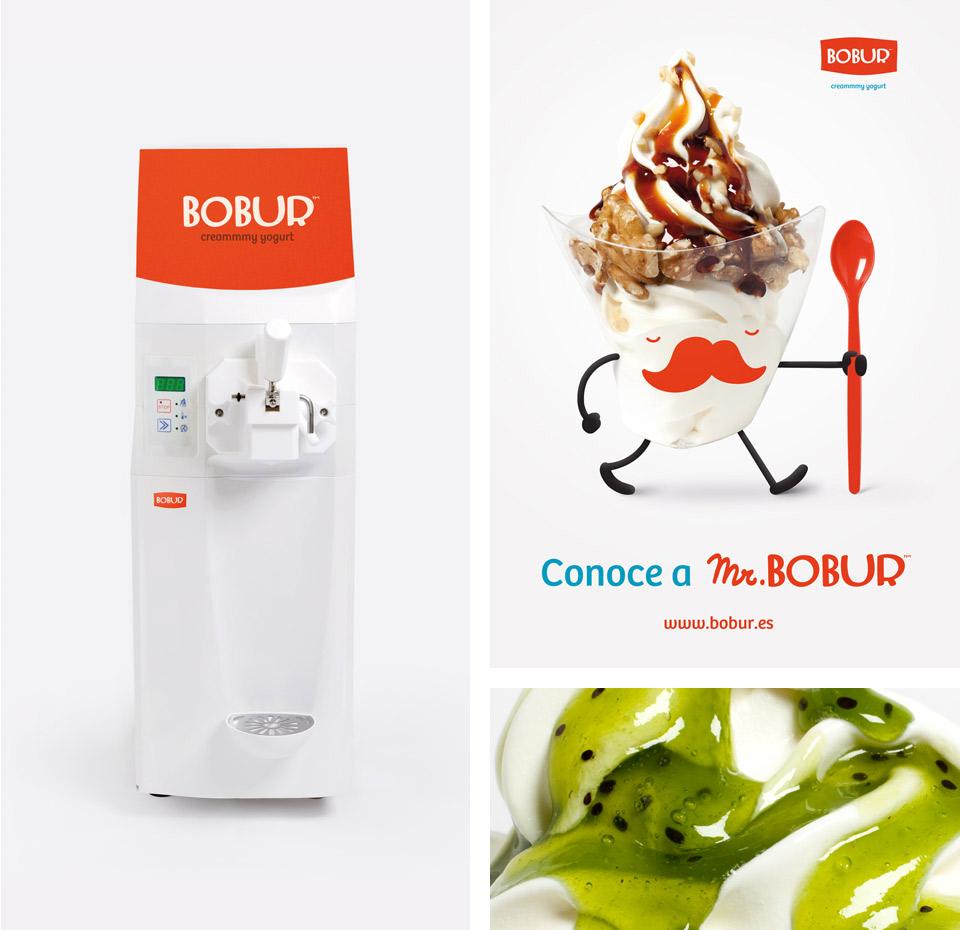Elementos imagen Bobur. Pixelarte estudio de diseño gráfico, creatividad y web.