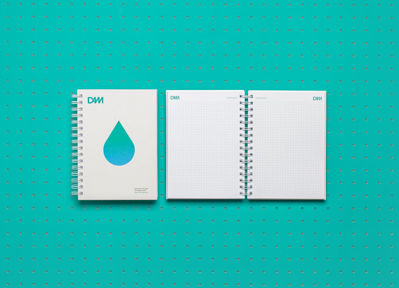 pixelarte-diseno-grafico-papeleria-libretas-Dam_Depuracion_Aguas_Mediterraneo