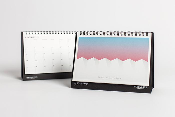 Calendario Pixelarte 2016