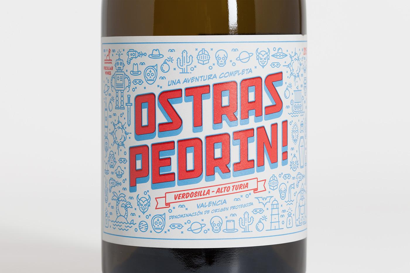 pixelarte-diseno-grafico-etiqueta-botella-de-vino-Ostras_pedrin-Bodega-Vicente_Gandia